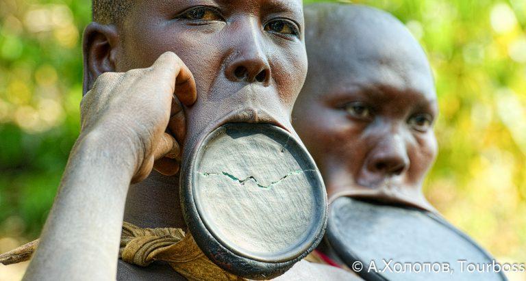 Туры в Эфиопию в племя Suri