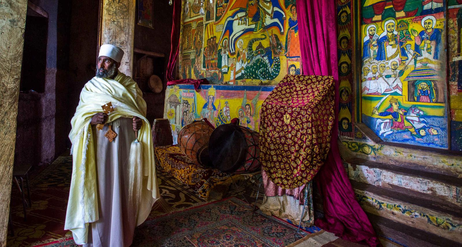 Монастыри на озере Tana, Эфиопия