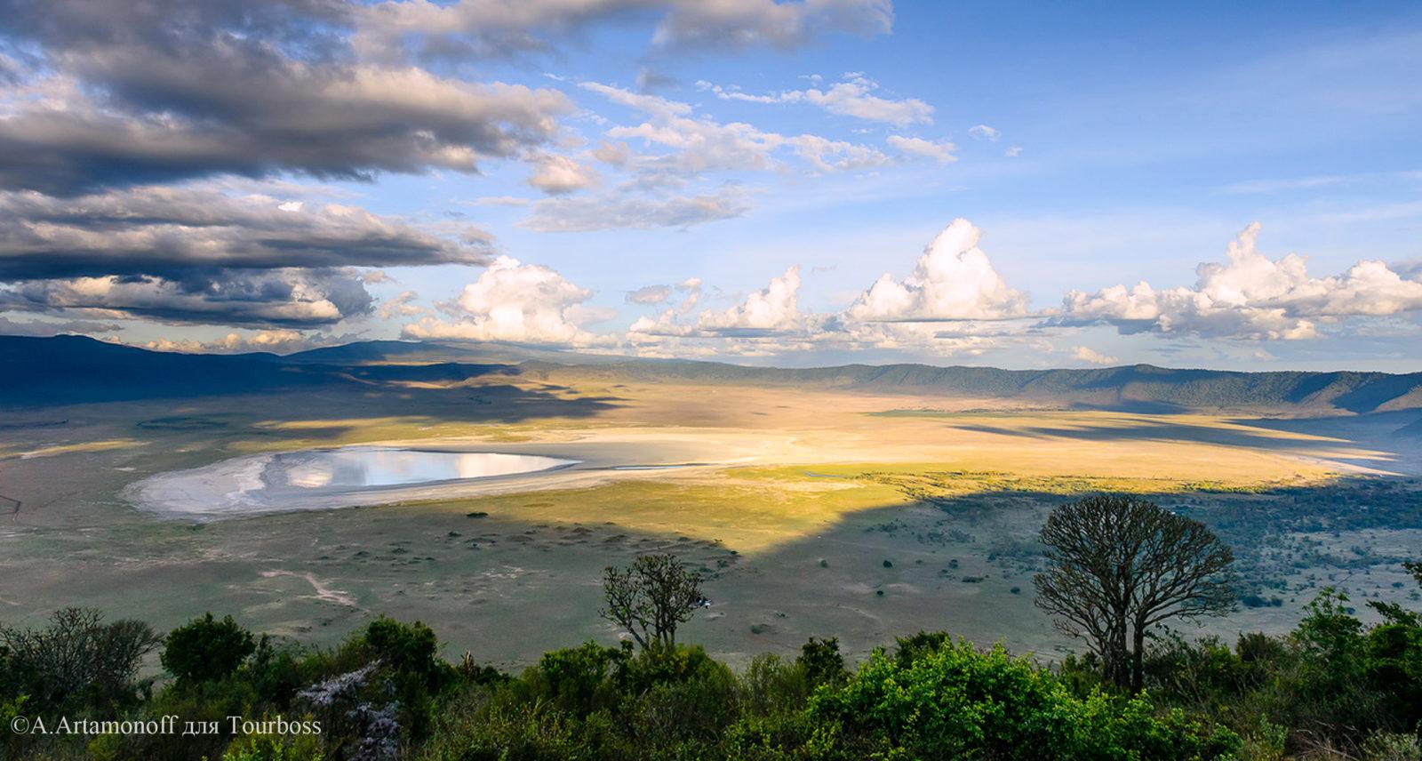 Кратер Ngorongoro, Танзания. Фото туристов