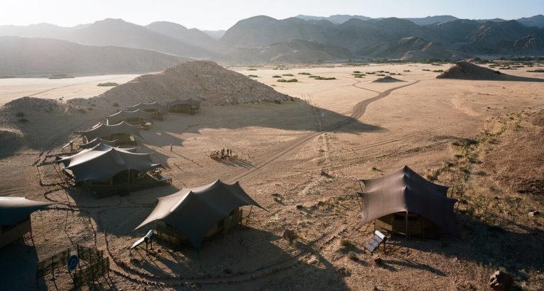 Лучшие лагеря и отели Намибии