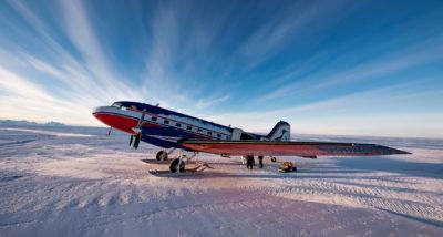 Перелеты по Антарктиде