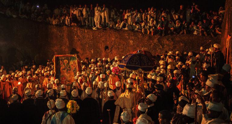 Древние храмы Lalibela, Эфиопия