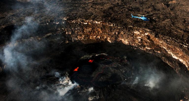 Вулкан Erta Ale, Эфиопия