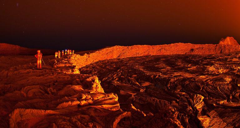 Экспедиция в Данакильскую впадину и на вулкан Erta Ale