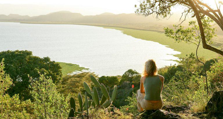 Отдых на озере Найваша в Кении