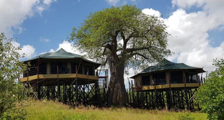 Tarangire Kuro Treetops Lodge, Танзания