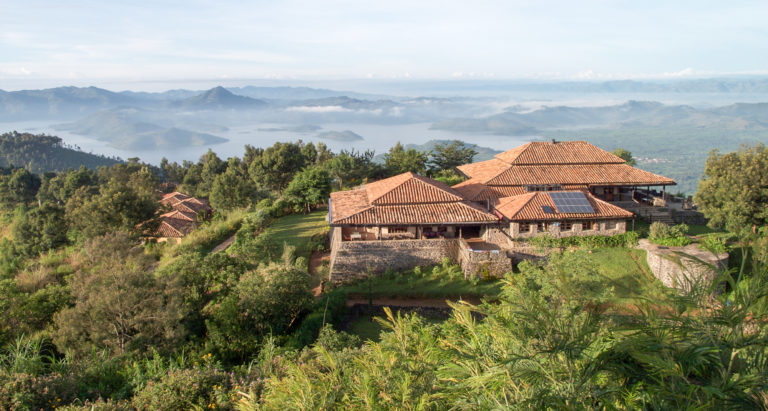 Virunga Lodge, Руанда