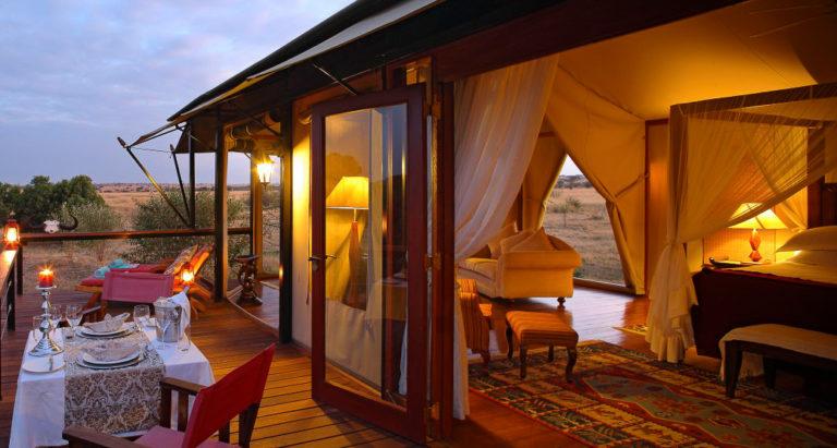 Mara Engai Wilderness Camp, Кения