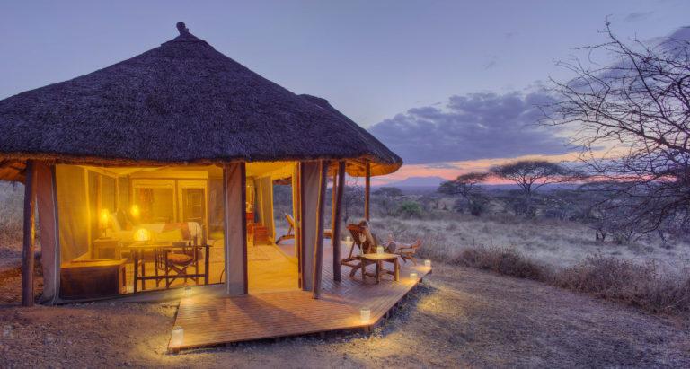 Olivers Camp, Танзания