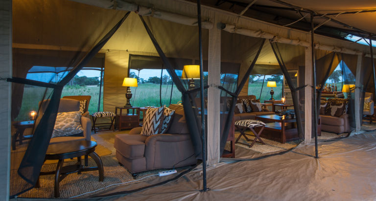 Serengeti Mara River Camp, Танзания