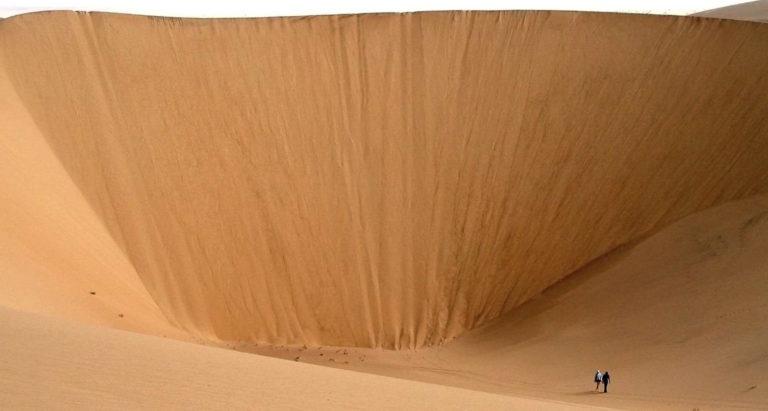 Пустынные дюны