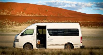 Транспорт в групповых турах в Намибию