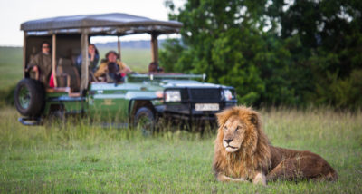 Открытые внедорожники в Mara Plains