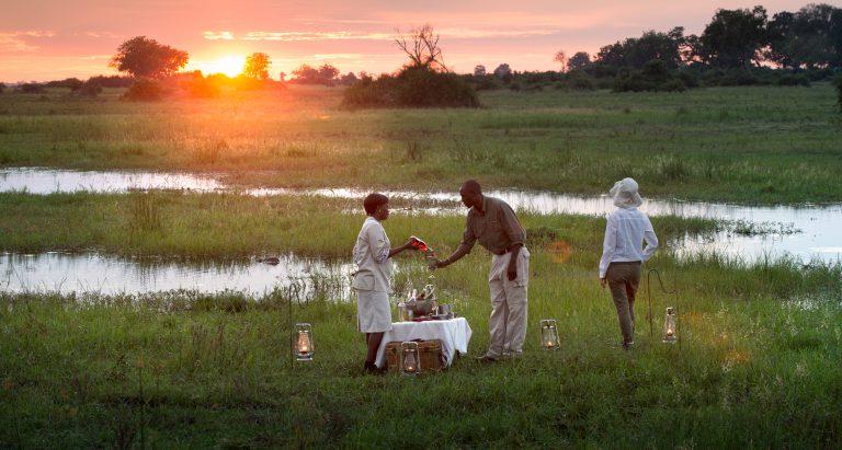 Duba Plains, дельта Окаванго, Ботсвана