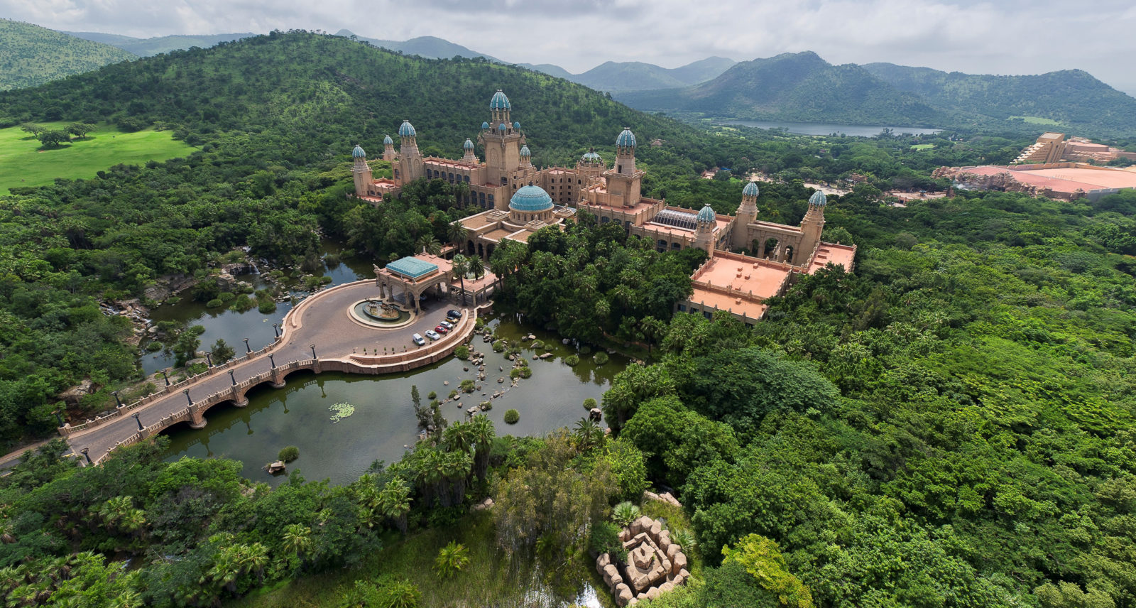 Palace of the Lost City, ЮАР