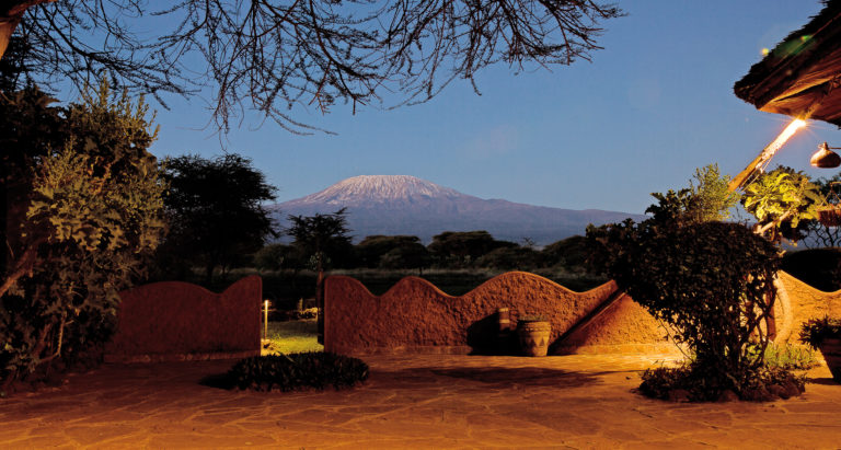 Amboseli Sopa Lodge, Кения